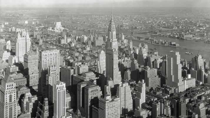 Chrysler Building wallpapers and stock photos