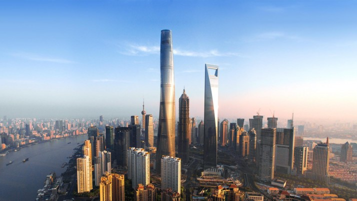 Shanghai Tower wallpapers and stock photos