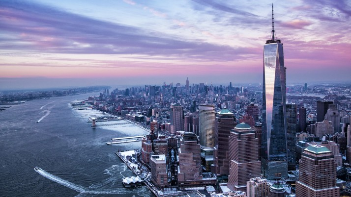 One World Trade Center wallpapers and stock photos
