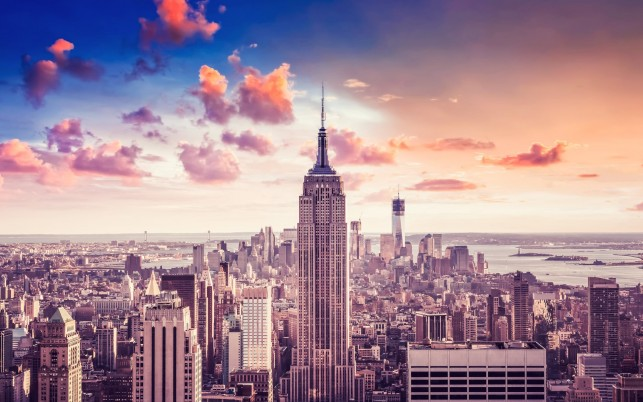 Empire State Building wallpapers and stock photos