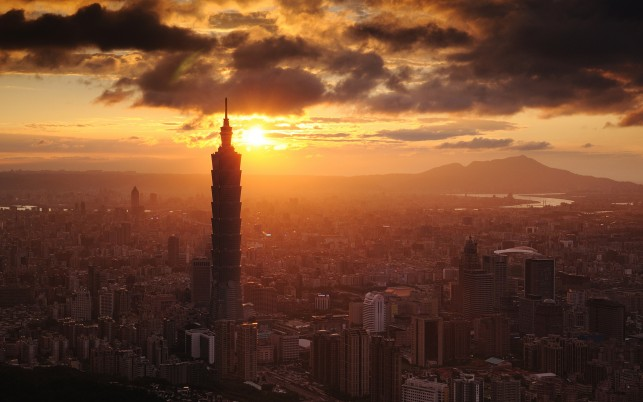 Taipei 101 wallpapers and stock photos