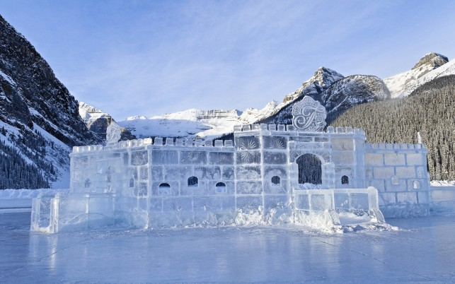 Ice Castle wallpapers and stock photos