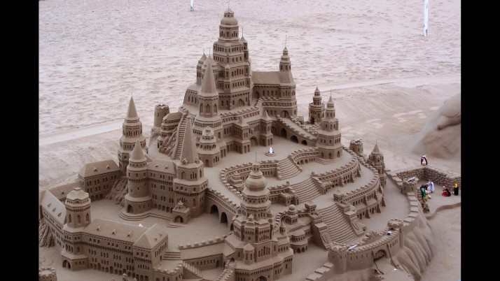 Sand Castle Four wallpapers and stock photos