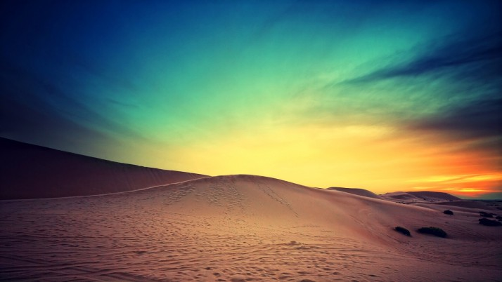 Deep Desert & Magical Sunset wallpapers and stock photos