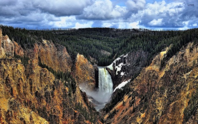 Previous: Splendid Lower Falls Wyoming