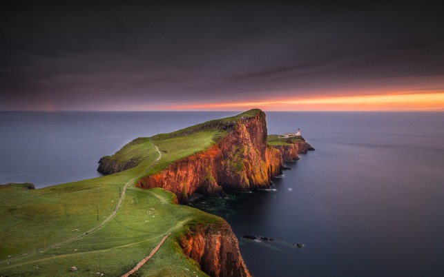 Neist Point Light Four wallpapers and stock photos