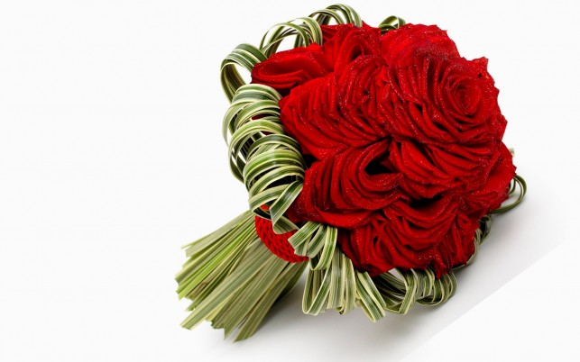 Red Rose Bouquet wallpapers and stock photos