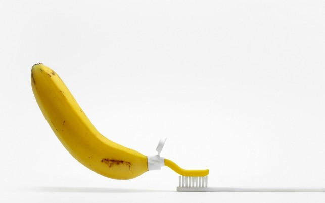 Random: Banana Tooth Paste