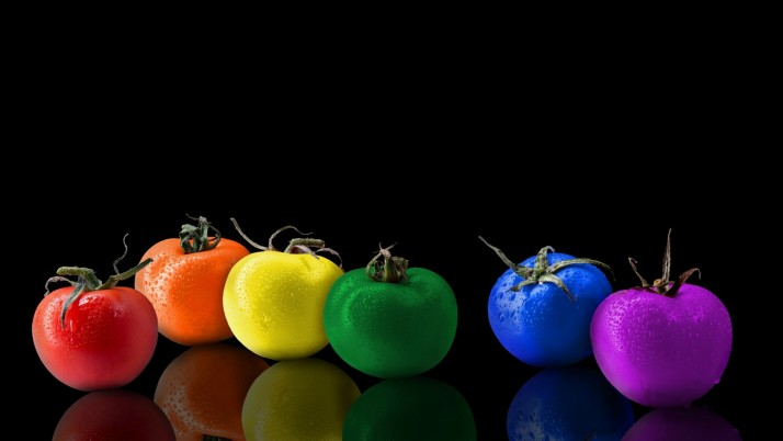 Rainbow Tomatoes wallpapers and stock photos