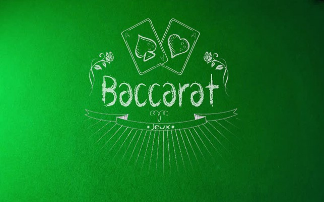 Baccarat jeu wallpapers and stock photos