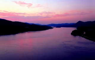 Purple River wallpapers and stock photos
