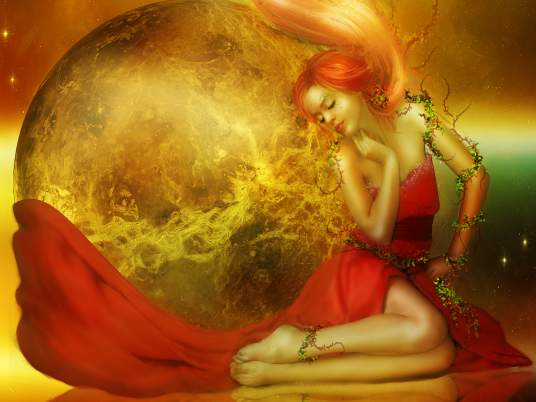 Sun Goddess wallpapers and stock photos
