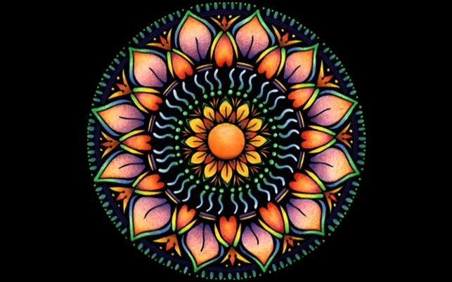 Previous: Orange Mandala Flower