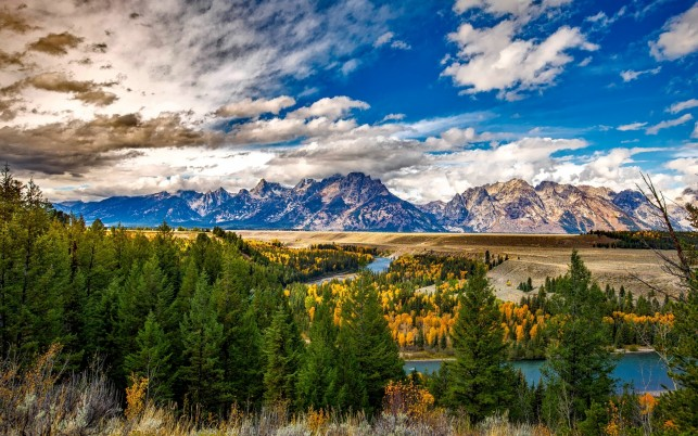 Charming Grand Teton Wyoming wallpapers and stock photos