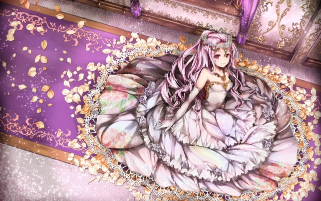 Random: Pink Princess & Purple Carpet