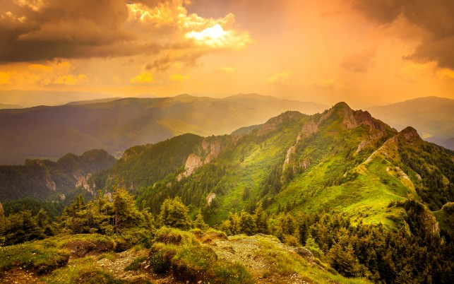 Ciucas Mountains Romania wallpapers and stock photos
