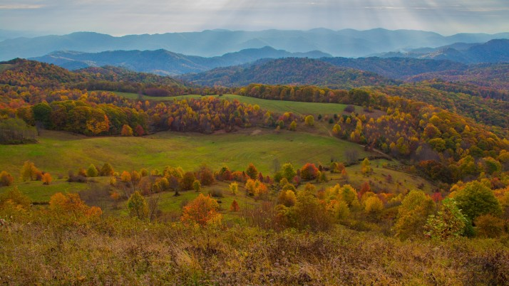 Appalachian Mountains Autumn wallpapers and stock photos