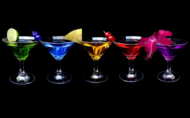 Random: Rainbow Cocktails