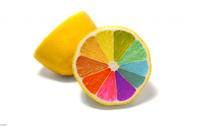 Random: Colorful Lemon