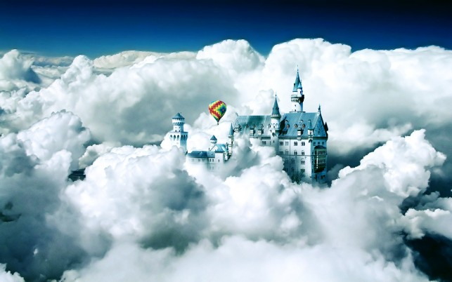 Castle In The Air wallpapers and stock photos