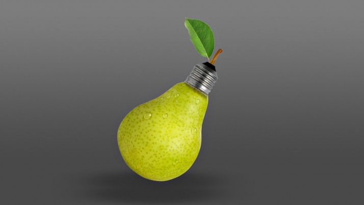 Creative Pear Bulb wallpapers and stock photos