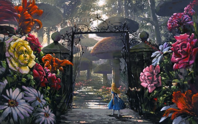 Gate To Wonderland wallpapers and stock photos