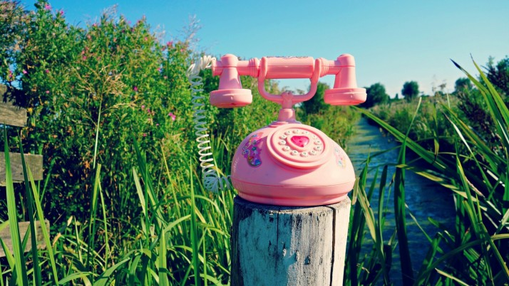 Pink Telephone wallpapers and stock photos