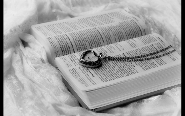 Heart Pendant & Book wallpapers and stock photos