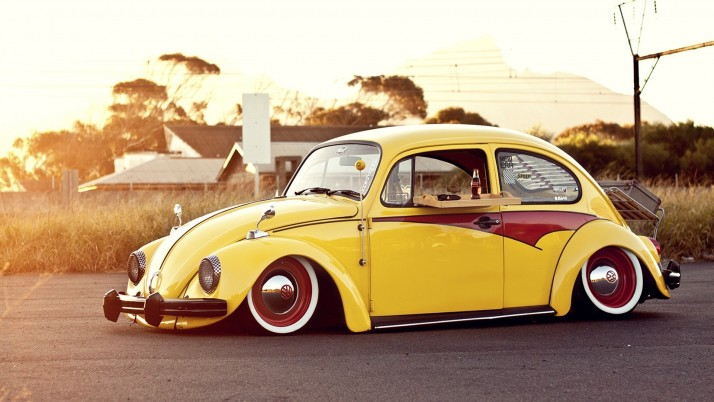 Volkswagen Beetle Classic One wallpapers and stock photos