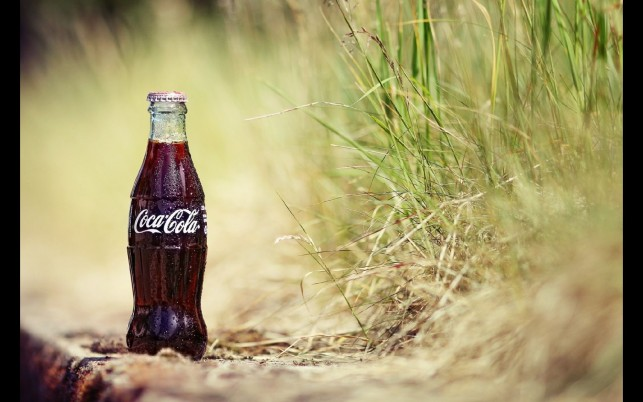 Next: Coca Cola & Grass