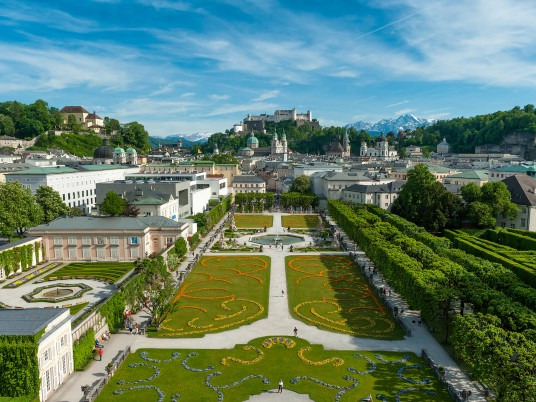 Schloss Mirabell Austria wallpapers and stock photos
