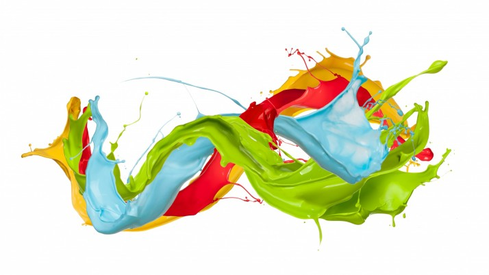 Paint Splatter Wild River wallpapers and stock photos