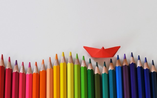 Colored Pencils Ship wallpapers and stock photos