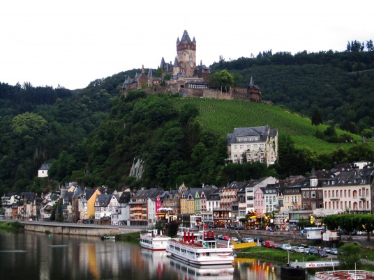 Reichsburg Cochem Rhineland wallpapers and stock photos