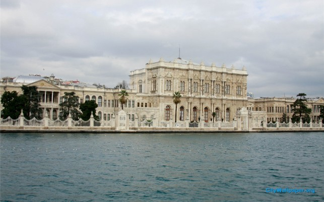 Dolmabahce Palace Turkey wallpapers and stock photos