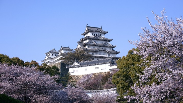 Himeji Castle Japan wallpapers and stock photos