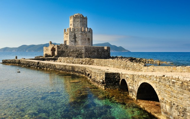 Castle Of Methoni Greece wallpapers and stock photos