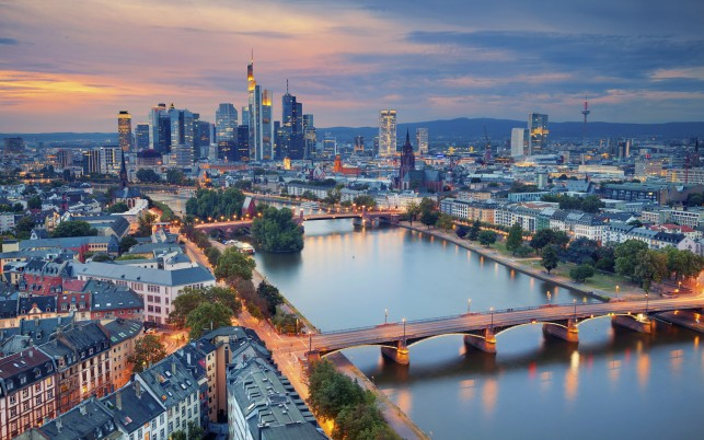 Frankfurt On The Main Hesse wallpapers and stock photos
