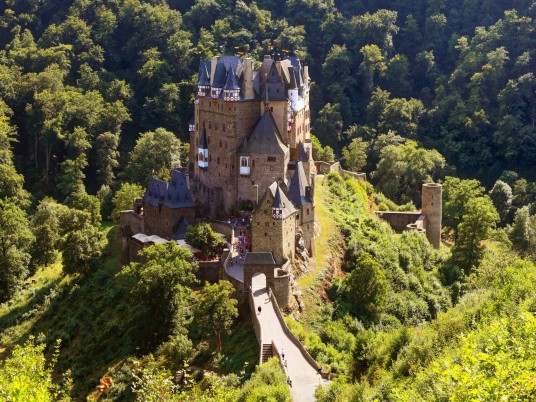 Eltz Castle Rhineland wallpapers and stock photos