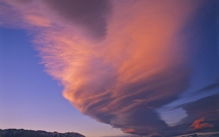Lenticular Cloud wallpapers and stock photos