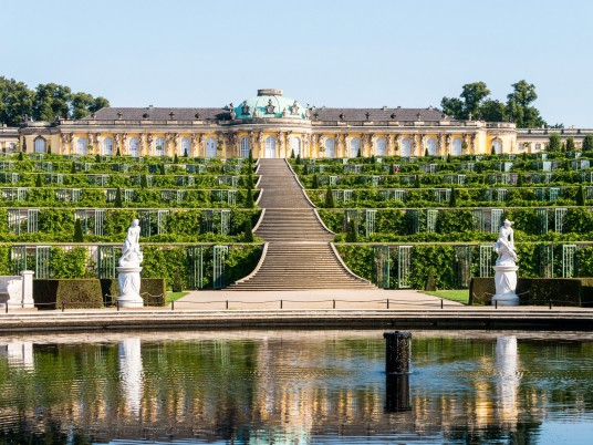 Palace Sanssouci Potsdam wallpapers and stock photos