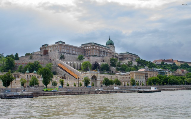 Buda Castle Budapest Hungary wallpapers and stock photos