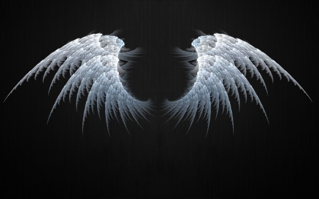 Angel Wings Fractal wallpapers and stock photos