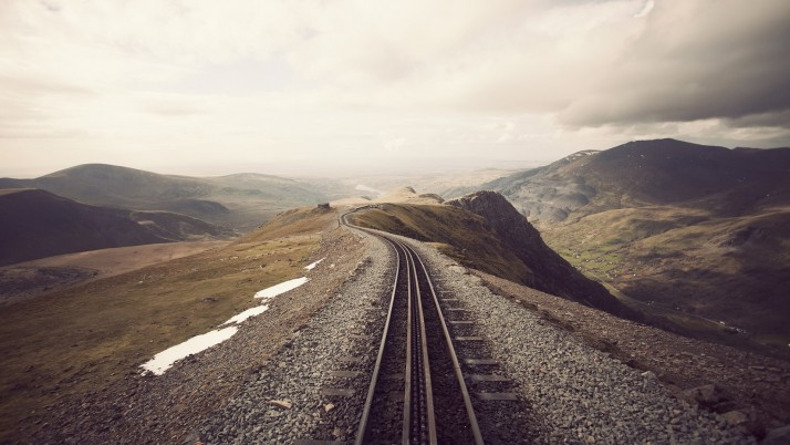 Grandiose Mountain Rail Road wallpapers and stock photos