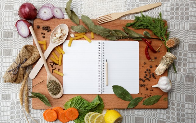 Recipe Book wallpapers and stock photos