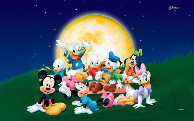 Mickey Mouse & Friends Picnic wallpapers and stock photos
