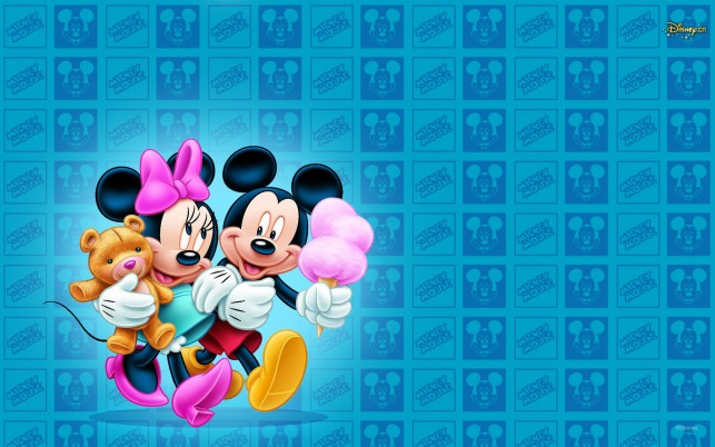 Mickey & Minnie After FunFair wallpapers and stock photos