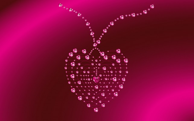 Pink Jewelry Heart wallpapers and stock photos