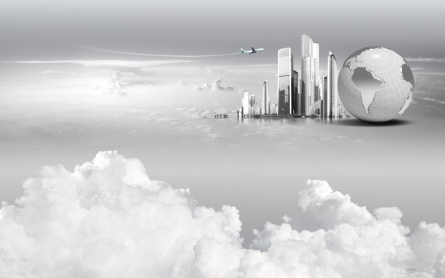 Future City wallpapers and stock photos