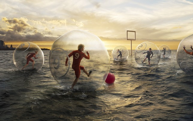 Water Soccer wallpapers and stock photos